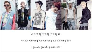 *OLD* EXO-K - Growl (으르렁) [Hangul/Romanization/English] Color & Picture Coded HD