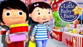 To Market To Market | Nursery Rhymes | Original Version By LittleBabyBum!