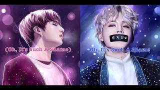 🎶Nightcore - BTS Jungkook & Jimin - We Don't Talk Anymore (Switching Vocals + Lyrics|Eng|Kor)🎶