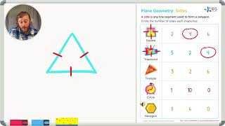 2D Shapes: Counting Sides