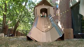 Cardboard Playhouse | Design Squad