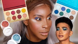 Bretman You Ain't SLICK! Trying the Bretman Colourpop Collection!   Jackie Aina