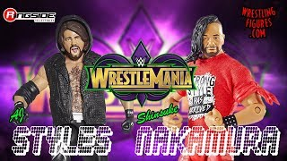 WrestleMania 34 Preview: AJ Styles VS Shinsuke Nakamura - WWE Championship Match