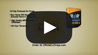 Mega Pack 6 - Official DJ Drops-