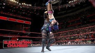 Nia Jax asserts her dominance in painful fashion against Asuka: WWE Elimination Chamber 2018