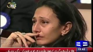 Aiman Baig Made All Cry with her Mili Nagma on PAF Martyrs width=
