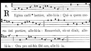 Regina Caeli - Gregorian Chant