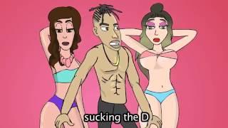 jason derulo swalla ft nicki minaj ty dolla ign cartoon parody