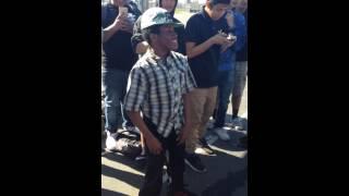 Lil money vs white boy wannabe rapper