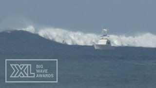 Grant Baker at Outer Logs - 2015 Billabong Ride of the Year Entry - XXL Big Wave Awards