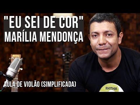 Marília Mendonça - Eu Sei De Cor