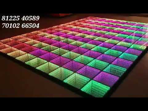 LED Glass Floor | Wedding Stage Platform Design Decoration India 91 81225 40589 (WA)