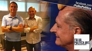 Dono da Havan, Luciano Hang humilha Geraldo Alckmin e defende Bolsonaro de mentiras: 'O nariz..