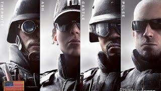 Rainbow Six Siege - FBI SWAT Operator Unlock Videos HD