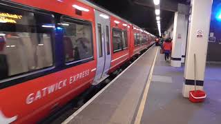 Gatwick Express Class 387 218-387 212 Departure Gatwick Airport for London Victoria