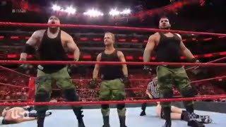WWE RAW - Aop vs Jobbers September 17,2018