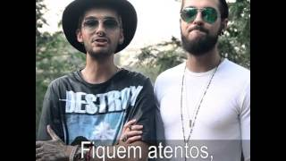 Bill and Tom video message for the Brazilian Aliens