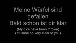 Oomph! - Zuviel Liebe kann dich töten (Lyrics w/ English Translation)