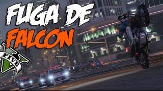 GTA V - FUGA DE FALCON ( MC Bruninho BN e MC Dudu do Conquista Quero Ver Pegar )