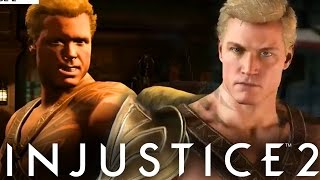 "Injustice 2: The NEW ""Aquaman"" Graphics Comparison! (Injustice Gods Among Us 2)"