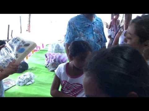 Negociando Con vendedores Rio San juan, NIcaragua