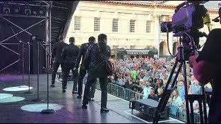 "The Jacksons ""Can You Feel It"" live at Greenwich Music Time in London"