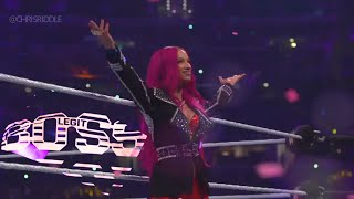 Sasha Banks Custom Entrance Video (WWE Theme)