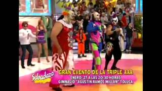 Psycho Circus bailando MAYONESA