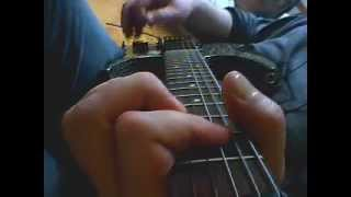 AC/DC - Walk all over You - short excerpt guitar cover