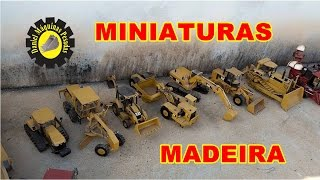Miniaturas de máquinas pesadas de madeiras/Thumbnails of heavy woods machines!