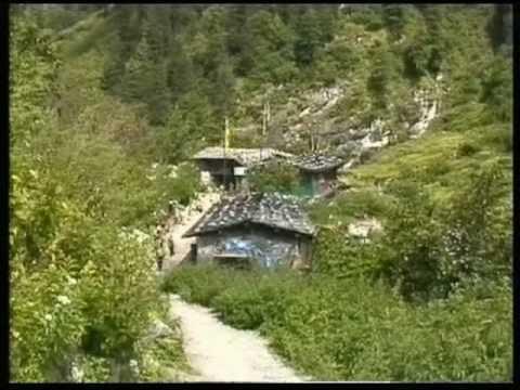 Nepal Annapurna Circuit Dharapani to Chame 1997