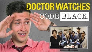Real Doctor Reacts to CODE BLACK | Medical Drama Review | Doctor Mike width=