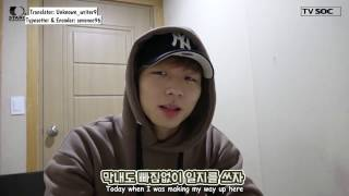[ENG SUB] Seven O'Clock (세븐어클락) Video Diary #2 (Taeyoung)