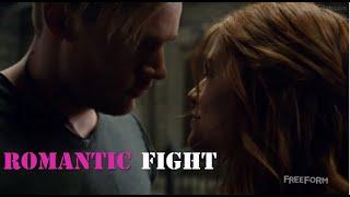 Clary andjace fight (shadowhunters) S2E12