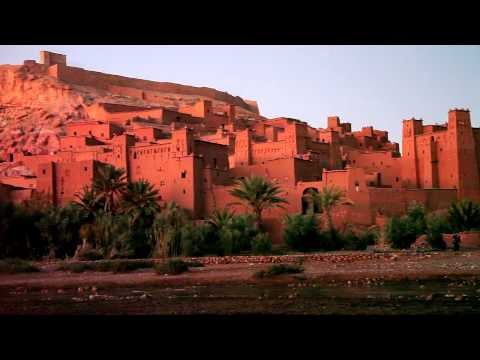 Postcard without Word – 2010 New Year's Day in Aït Benhaddou, Morocco