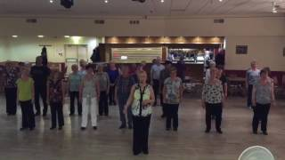 Gypsy Queen - linedance choreographed by Hazel Pace - May 2016