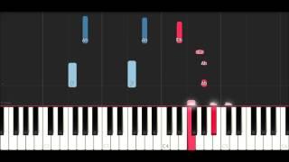Logan Paul - Hero ft. Zircon (Piano Tutorial )