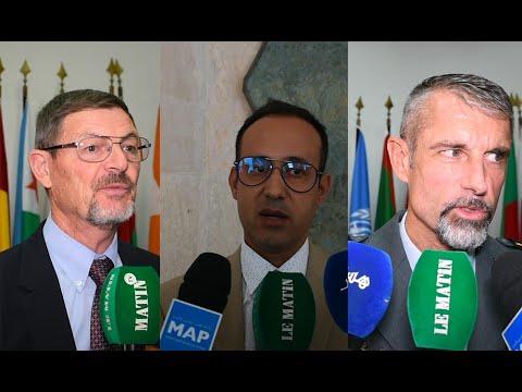 Video : Opérations de Maintien de la paix : Le Collège Royal de l'Enseignement Militaire Supérieur abrite une formation de Haut niveau des Nations Unies