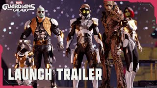 Marvel\'s Guardians of the Galaxy launch trailer