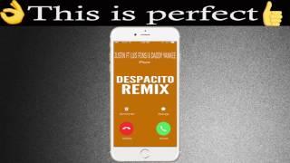 Despacito Remix Ringtone - Justin Bieber Feat Luis Fonsi & Daddy Yankee