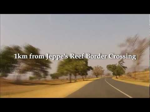 Driving in South Africa – Route R570 Malelane – Jeppe's Reef