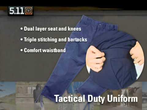 Video: 5-11 Tactical Duty Uniform (TDU) Pant-Shirt  | Pyramyd Air