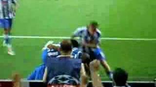 FC Porto - Liverpool penalti de Lucho