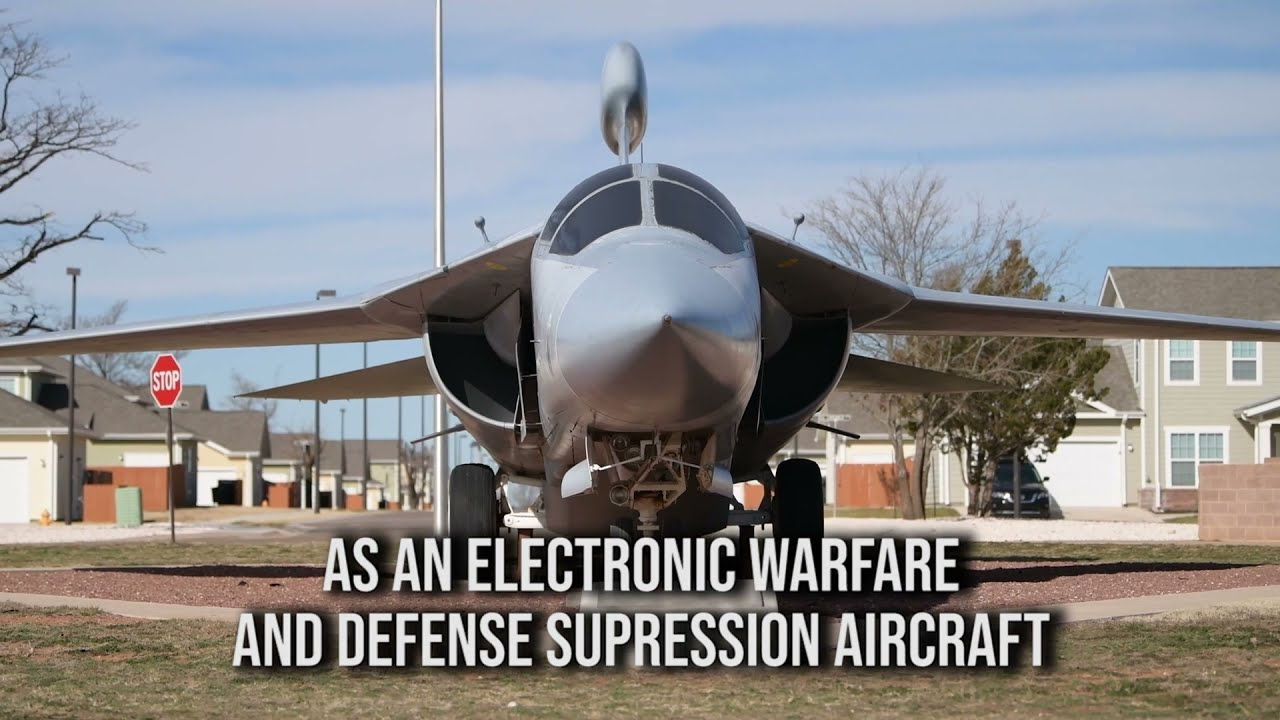 US Air Force - EF-111 Raven - Electronic Warfare Aircraft