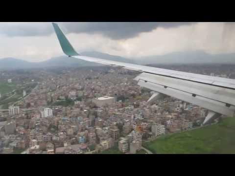 Biman Bangladesh Airlines Kathmandu Landing
