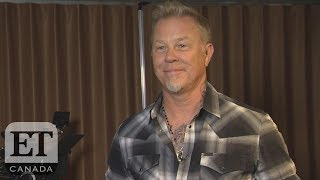 Metallica's James Hetfield Talks Jenner T-Shits, Listening To ABBA