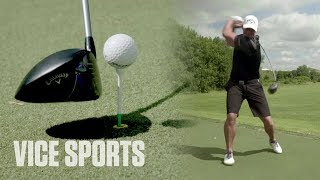 Training with the Strongest Man in Golf
