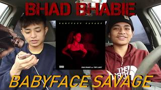BHAD BHABIE - BABYFACE SAVAGE FEAT. TORY LANEZ (FIRST REACTION/REVIEW)