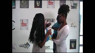 Miss Mariah and Tyler at the Bright Star Talent Entertainment & Social Media Mixer