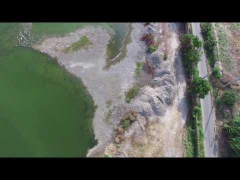 麻豆填埋台塑石灰的魚塭又再填埋玻璃纖維等不明汙泥 20160629
